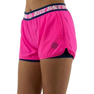 Bidi Badu Tiida Tech 2 In 1 Short Womens Pink/Dark Blue W314087 213