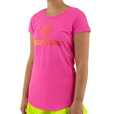 Bidi Badu Coletta Basic Logo Tee Womens Pink W354065 202
