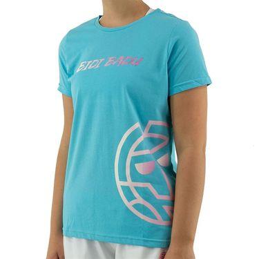 Bidi Badu Evita Basic Logo Tee Womens Aqua W354088 211