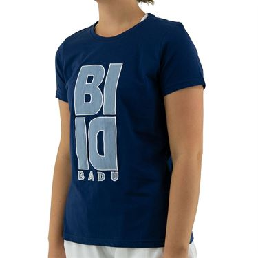 Bidi Badu Carsta Lifestyle Tee Womens Dark Blue W354089 211
