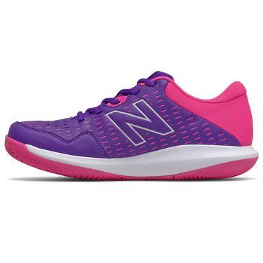New Balance WCH696V4 Womens Tennis Shoe D Width Violet/Pink WCH696V4 D