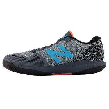 New Balance 996v4 (B) Womens Tennis Shoe - White/Grey/Blue