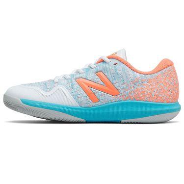 New Balance 996v4 (B) Womens Tennis Shoe - Orange/Blue