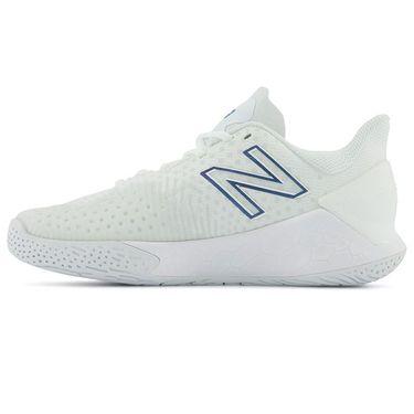 New Balance WCHLAVL2 Womens Tennis Shoe D Width White/Blue WCHLAVL2 D