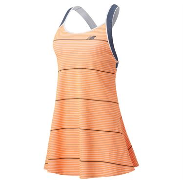 New Balance Printed Tournament Dress Womens Citrus Punch/Thunder WD01431 AUS