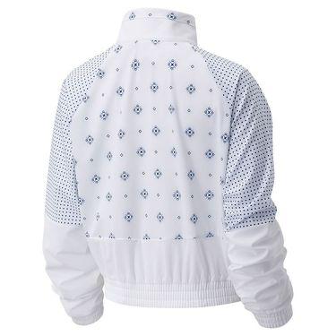New Balance Achiever Bandana Jacket Womens White WJ03130 WT