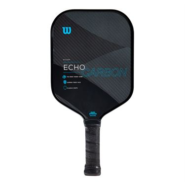 Wilson Echo Carbon Pickleball Paddle - Black