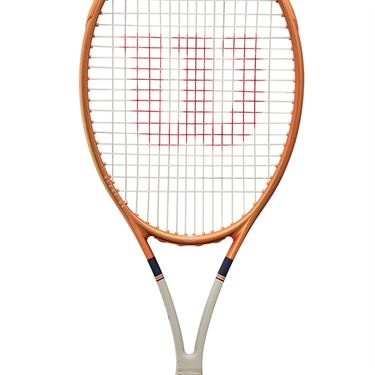 Wilson Blade 98 (16x19) v7 Roland Garros Tennis Racquet