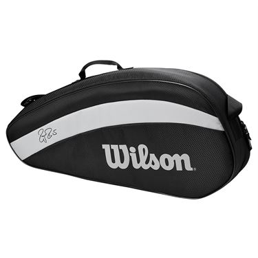 Wilson RF Team 3 Pack Tennis Bag - Black