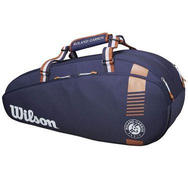 Wilson Roland Garros Team 6 Pack Tennis Bag - Navy/RedClay