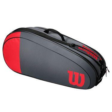 Wilson Team 6 Pack Tennis Bag - Red/Grey