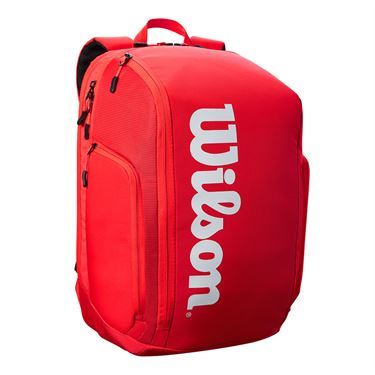 Wilson Super Tour Red Backpack