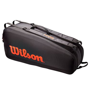 Wilson Tour 6 Pack Tennis Bag - Red/Black