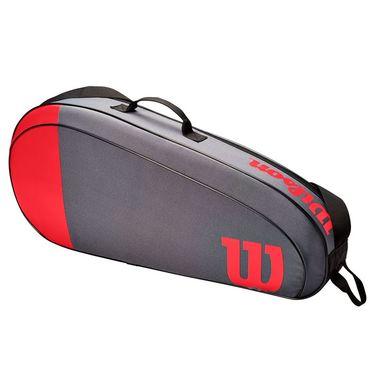 Wilson Team 3 Pack Tennis Bag - Red/Grey
