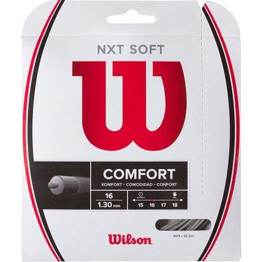 Wilson NXT Soft 16G Silver Tennis String
