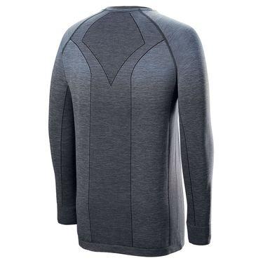 Wilson F2 Seamless Long Sleeve Shirt Mens Flint/Ebony WRA774702