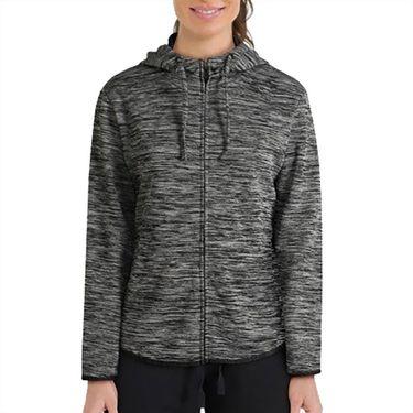 Wilson 2019 US Open Training Hooded Jacket Womens Black WRA776001