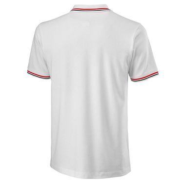 Wilson Since 1914 Pique Polo Mens White WRA780101
