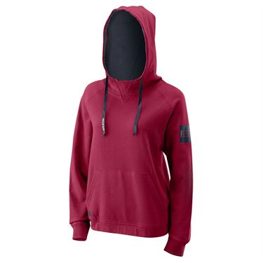 Wilson Since 1914 Pullover Hoody Womens Anemone WRA781501