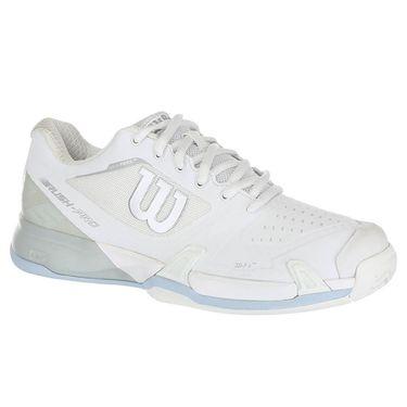 Wilson Rush Pro 2.5 Womens Tennis Shoe 2019 - White/ Pearl Blue/Cashmere Blue