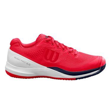 Wilson Rush Pro 3.0 Womens Tennis Shoe Lollipop/White/Peacoat WRS326010