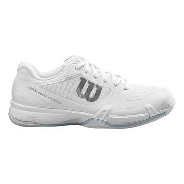 Wilson Rush Pro 2.5 Womens Tennis Shoe White/Pearl Blue/Cashmere Blue WRS326310