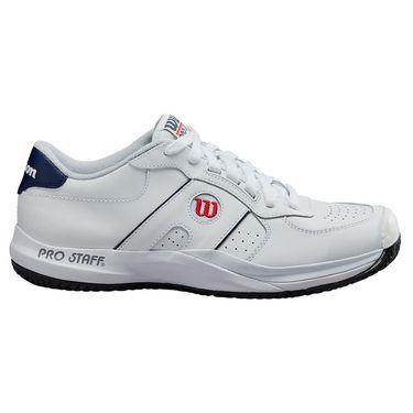 Wilson Pro Staff Mens Tennis Shoe White/Peacoat WRS326900