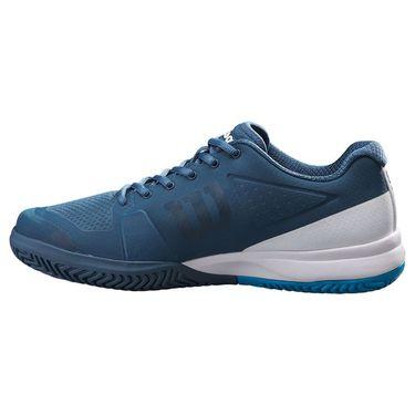 Wilson 2021 Rush Pro 2.5 Mens Tennis Shoe Majolica Blue/White/Barrier Reef WRS327370