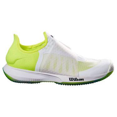 Wilson Kaos Mirage Mens Tennis Shoe White/Safety Yellow/Soothing Sea WRS327430