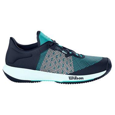 Wilson Kaos Swift Womens Tennis Shoe Outer Space/Aruba Blue/Soothing Sea WRS327580
