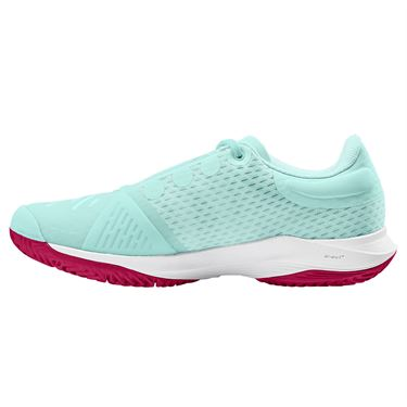 Wilson Kaos 3.0 Girls Junior Tennis Shoe Soothing Sea/White/Sangria WRS328170
