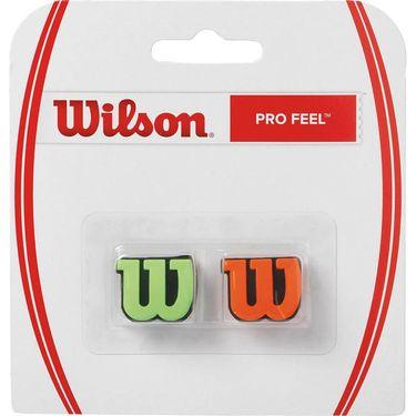 Wilson Pro Feel Vibration Dampener - Green/Orange