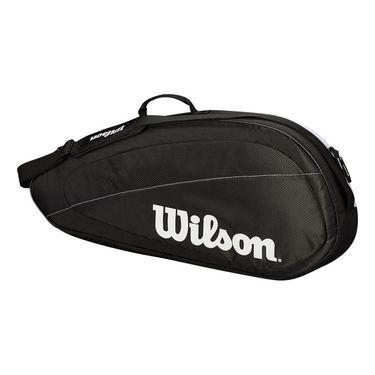 Wilson Federer Team 3 Pack Tennis Bag - Black/White