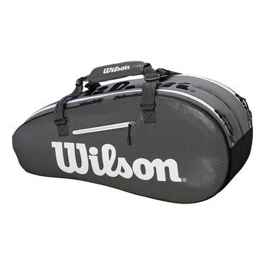 Wilson Super Tour 6 Pack Tennis Bag - Black/Grey