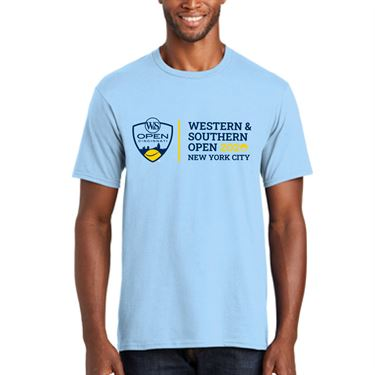Western & Southern Open 2020 Circle Tee Navy Heather WST20 07