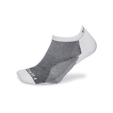 Thorlo Experia Fierce No Show Socks - White/Black