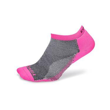 Thorlo Experia Fierce No Show Socks - Pink/Black
