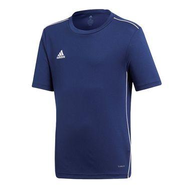 adidas Junior Training Crew - Dark Blue/White