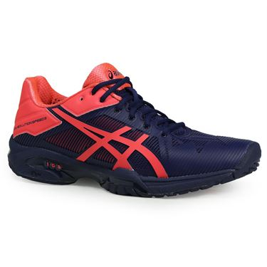 Asics Gel Solution Speed 3 Womens Tennis Shoe, Blue, E650N 4920