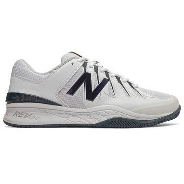 New Balance MC1006BW (4E) Mens Tennis Shoe, White/Navy, MC1006BW 4E