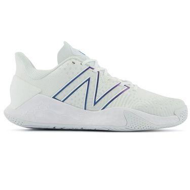 New Balance MCHLAVL2 Mens Tennis Shoe D Width White/Blue MCHLAVL2 D