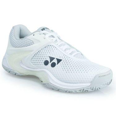 Yonex Power Cushion Eclipsion 2 Womens Tennis Shoe - White/Silver