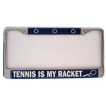 Tennis License Plate Holder - TV31