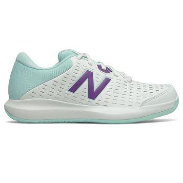 New Balance 996v4 (B) Womens Tennis Shoe - White/Mint Green