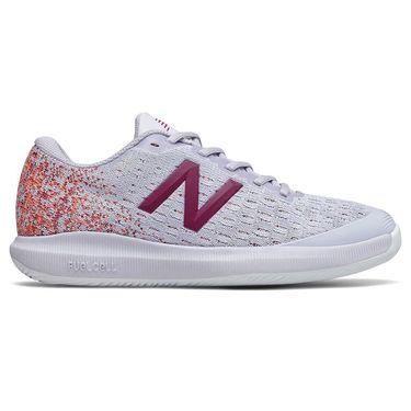New Balance 996v4 (B) Womens Tennis Shoe - Grey/Mulberry