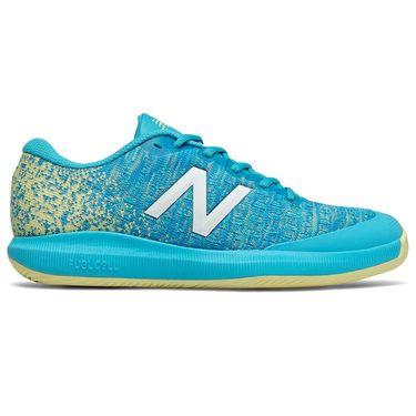 New Balance 996v4 (B) Womens Tennis Shoe - Blue/Yellow