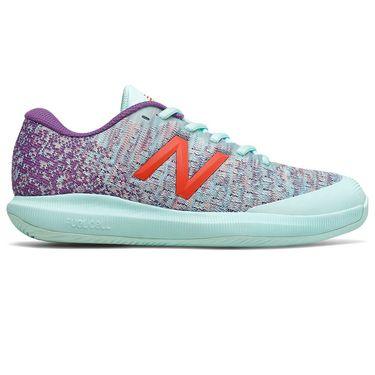 New Balance 996v4 (B) Womens Tennis Shoe - Light Blue/Purple