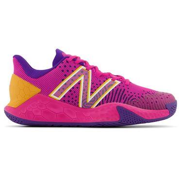 New Balance Fresh Foam X LAV V2 (B) Womens Tennis Shoe - Pink/Deep Violet
