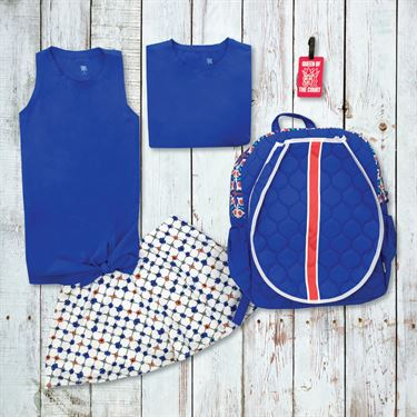 Womens Holiday Tail x Cinda B Tennis Bundle
