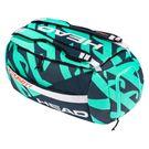 Head Gravity r-PET Sport Tennis Bag - Turquoise/Navy